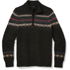 Smartwool CHUP Hansker Sweat À Fermeture Éclair Torse Homme, military olive heather